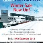 winter newsletter design