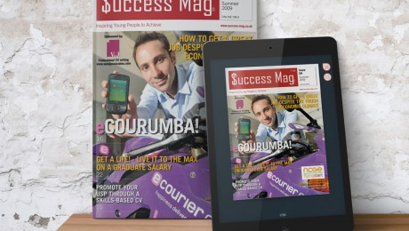 Young Entrepreneurs Print and Digital Magazine Design