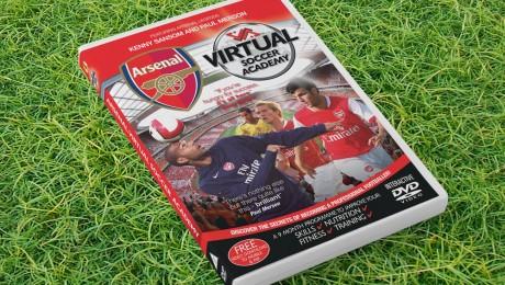 Arsenal FC Interactive DVD artwork design