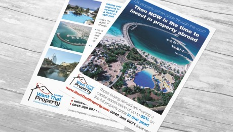 Overseas Property Investment Flyer Design
