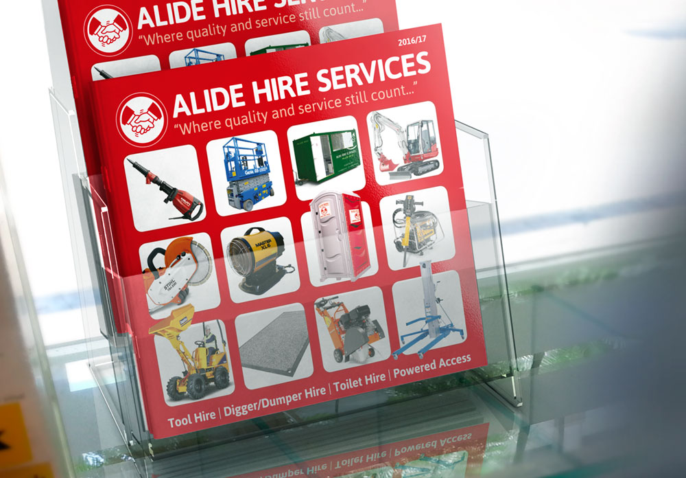 alide catalogue design