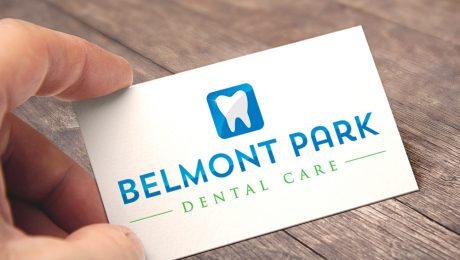 Belmont Park Dental Care Logo Design