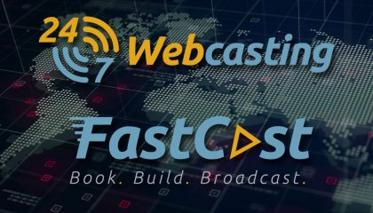 24-7 webcasting Fast cast