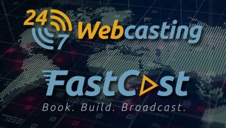 24-7 Webcasting Fastcast Logo Design