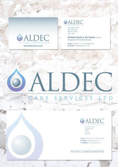 care service logo design