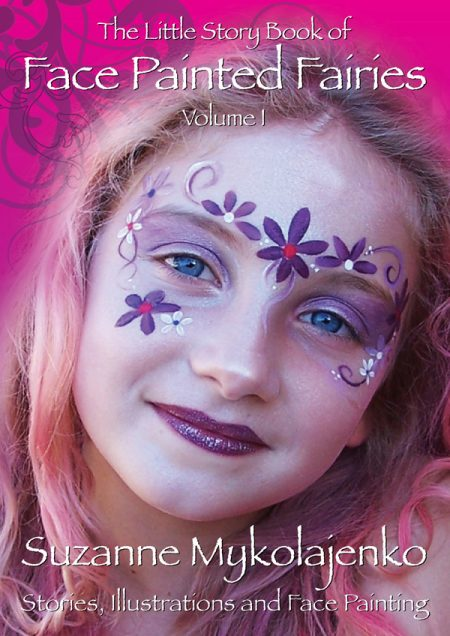 face painting booklet design