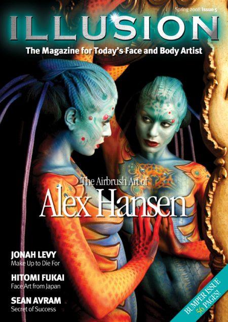 illusion magazine cover design