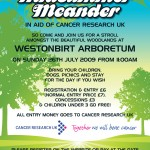 charity leaflet design