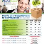 removals leaflet design