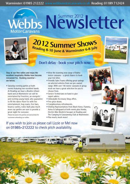 summer newsletter design