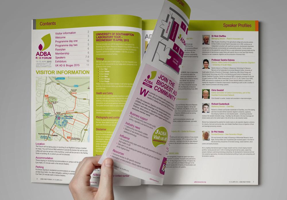 ADBA R&D Forum 2015 Event Guide