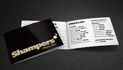 shampers business card