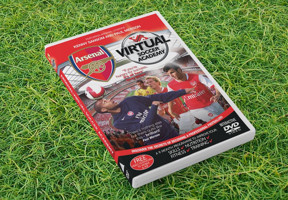 Arsenal DVD wrap artwork