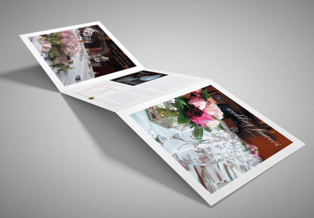 Fresh Flower Company Folded Leaflet