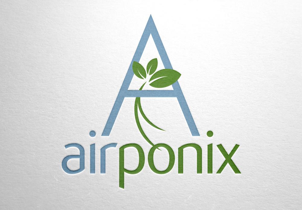 airponix logo design