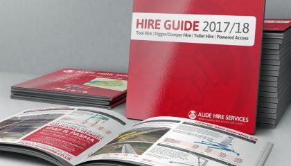 alide hire services catalogue 2017