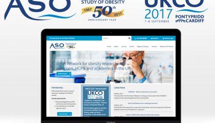 ASO 50th Anniversary logo design