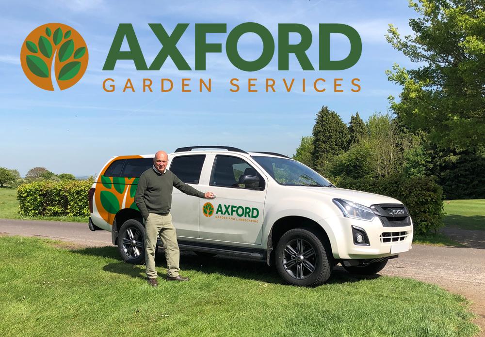 Axford Garden Services Branding
