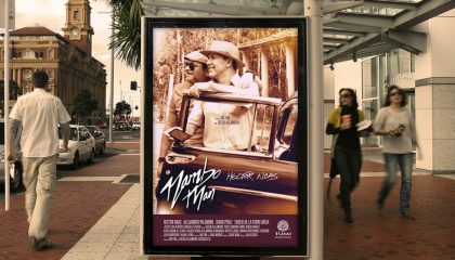 mambo man film poster design