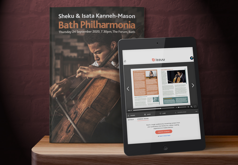 Bath Philharmonia Programme Design