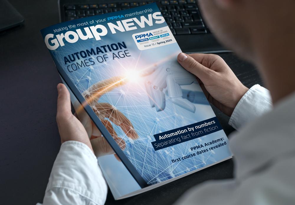 PPMA company magazine design