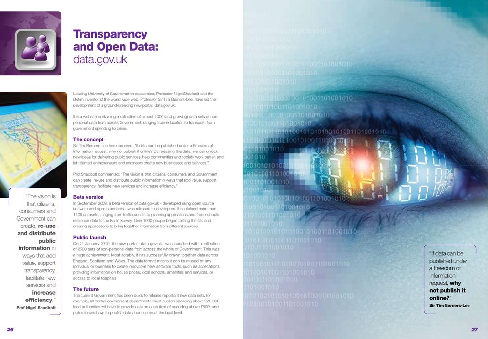 SETsquared event brochure design